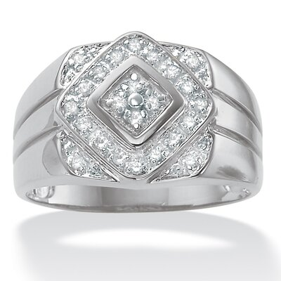 Palm Beach Jewelry Men's Diamond Ring
