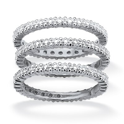 Palm Beach Jewelry Diamond Accent Eternity Band Ring