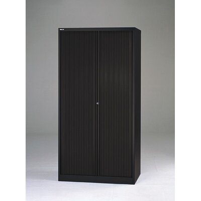 "Bisley 78"" Tambour Door Cabinet for Binder Storage"