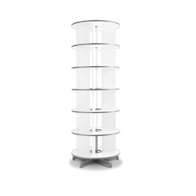 "Empire Office Solutions Spin-N-File 32"" 6 Tier Rotary Binder Storage Carousel"