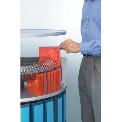 Bindertek Dealer Solutions Deluxe Carousel CD Multimedia Wire Rack