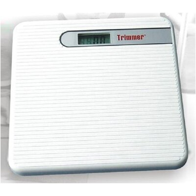 Trimmer Basic Digital Bathroom Scale in White