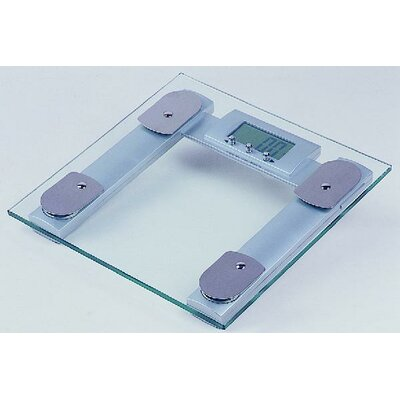 Square Digital Body Fat Analyzer Bathroom Scale