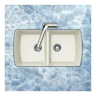 Solido Series Undermount 50/50 Double Bowl Sink