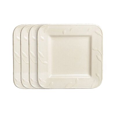 "Signature Housewares Sorrento 9"" Square Salad Plate"
