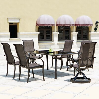 Mission Hills Coronado 7 Piece Dining Set