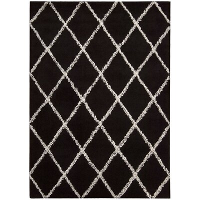 Joseph Abboud Rug Collection Monterey Black / White Rug