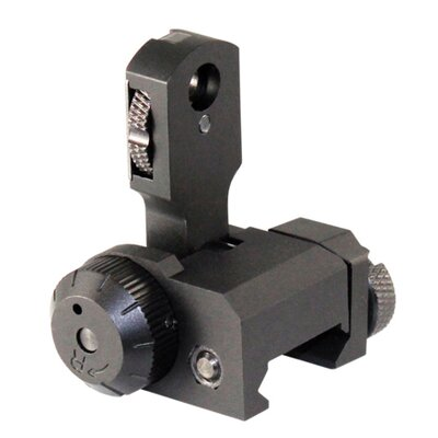 Single Plane Dual Aperture Rear Flip-Up Sight