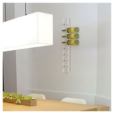 Gus* Modern Accessories 8 Bottle Wall Mounted Wine Rack