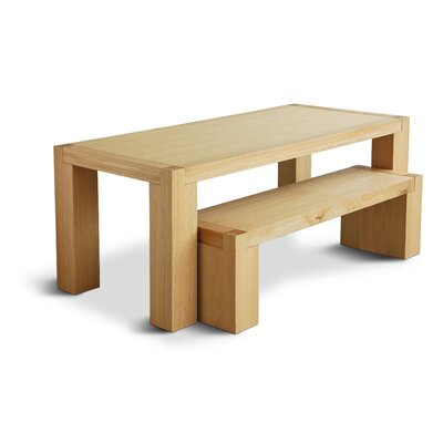Gus Modern Chunk Wood Kitchen Bench