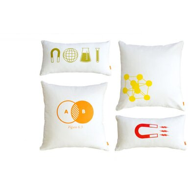 Gus* Modern Graphic Pillows (Set of 4)
