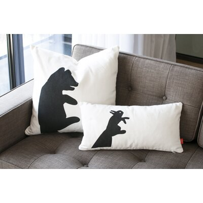 Gus* Modern Shadow Puppets Graphic Down Pillows (Set of 4)