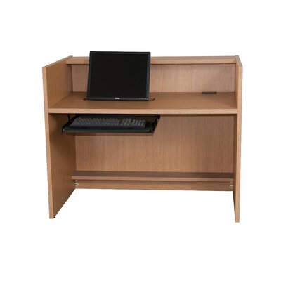 Paragon Furniture Circulation Desk with Transaction Shelf