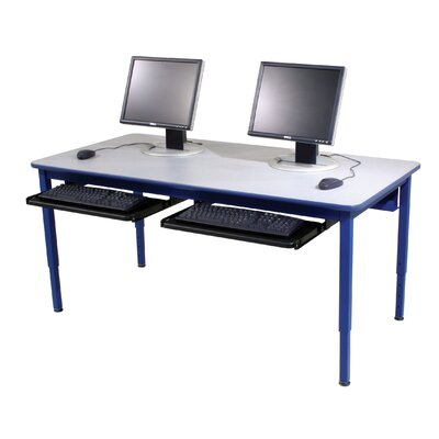 Paragon Furniture 4 Leg Computer Training Table