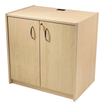 Paragon Furniture Locking Storage Cabinet