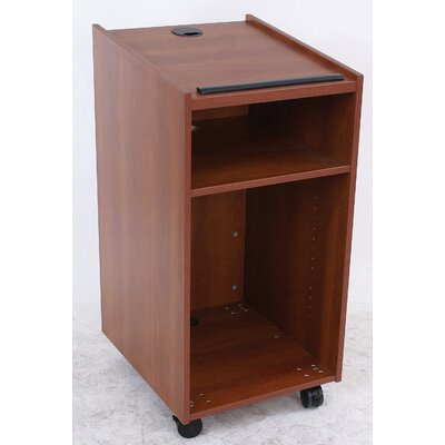 Paragon Furniture Laminate Lectern with Accessories