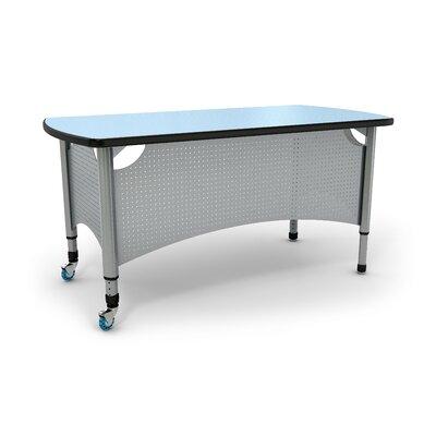 Paragon Furniture All Terrain Teacher Desk Leg Teacher Desk with Accessories