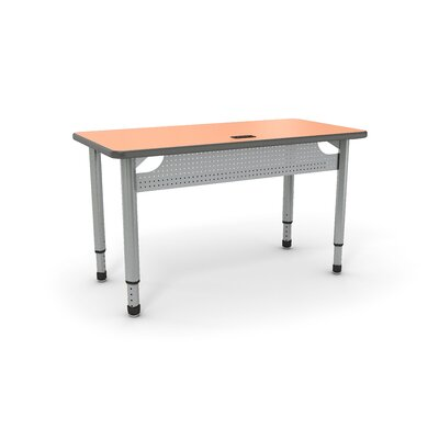 Paragon Furniture 1 Student Intuitive Training Table with Mechanism