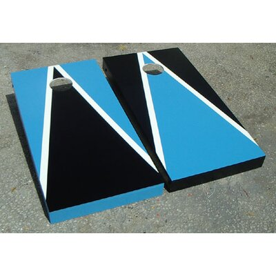 Victory Tailgate Alternating Triangle Cornhole Bean Bag Toss Game