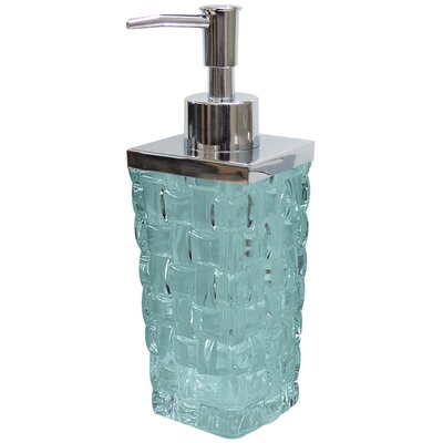 NU Steel Basket Weave Lotion Dispenser