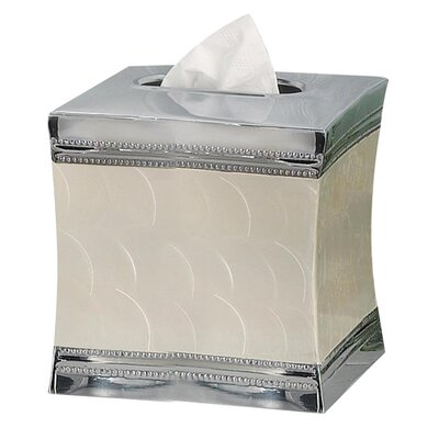 NU Steel Fantasy Boutique Tissue Holder