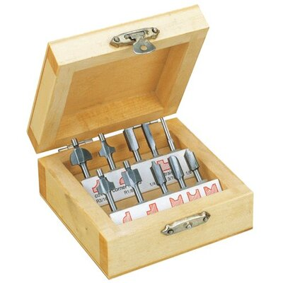 Router Bit 10 Piece Set