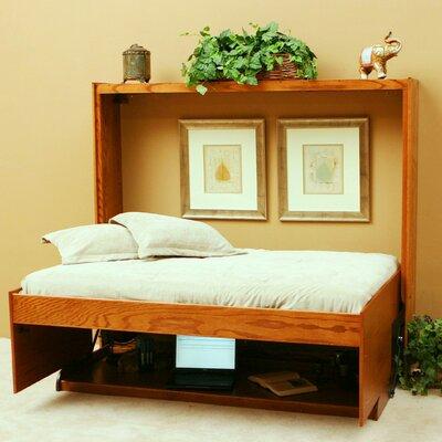 Wallbeds Contemporary Oak Horizontal Murphy Bed