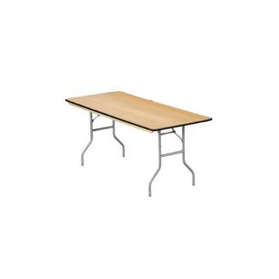 "Buffet Enhancements 72"" x 30"" Rectangular Folding Table"