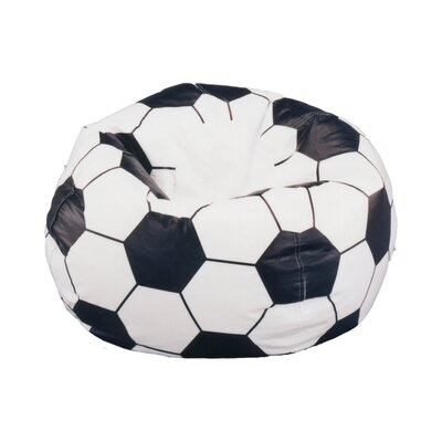 Elite Products Child Soccerball Bean Bag Chair