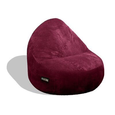 Sitsational Deluxe Cord Bean Bag Lounger