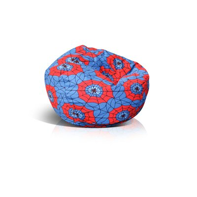 Elite Products Wetlook Collection Jr. Child Spider Web Bean Bag Chair