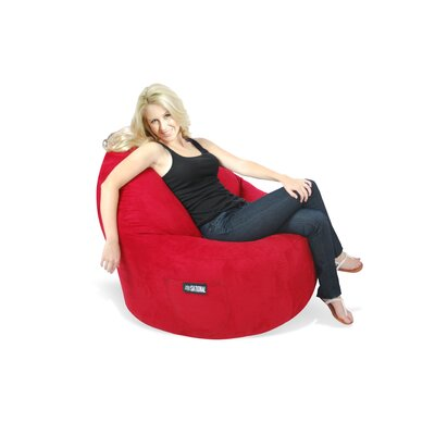 Elite Products Sitsational Deluxe Suede Bean Bag Lounger
