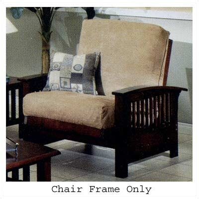 Elite Products Bridgeport Jr. Twin Chair - All Wood