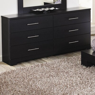 Lang Furniture Brooklyn 6 Drawer Dresser