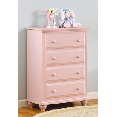Lang Furniture Madison 4-Drawer Kids Chest