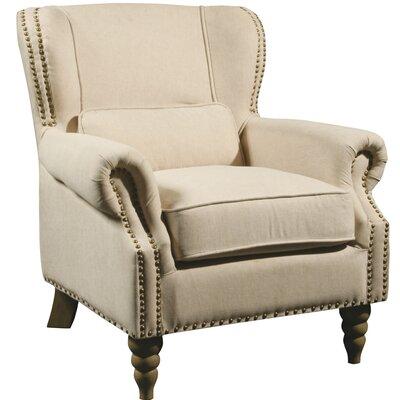 linen wingback chair wayfair