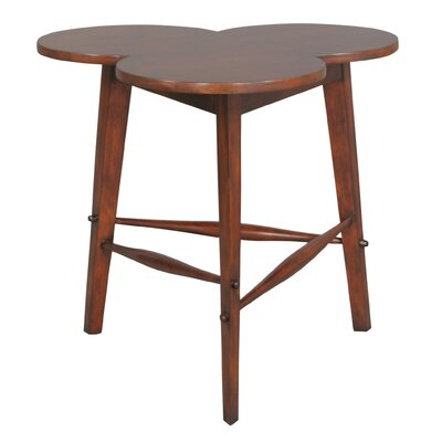 Country Cloverleaf End Table