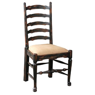 English Country Upholstered Side Chair
