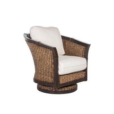 Acacia Home and Garden Bayshore Fabric Swivel Rocker Glider