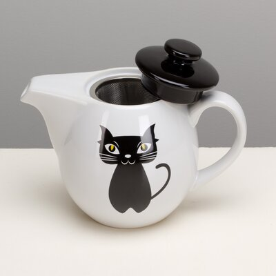 Chat Noir Teapot with Infuser