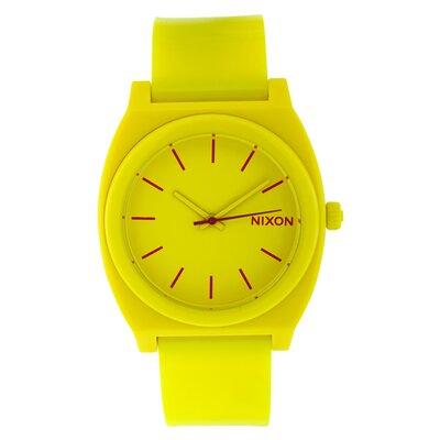 Nixon Men's Time Teller Plastic Watch