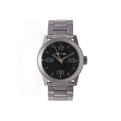 Nixon Men's Private Watch with Black Dial