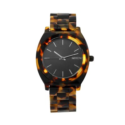 Nixon Women's Time Teller Watch with Acetate Strap