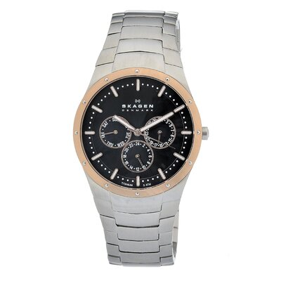 Titanium Men's Crystal Watch