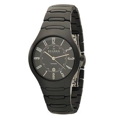Ceramic Men's Crystal Watch