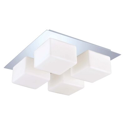 EGLO Peroni 4 Light Flush Mount