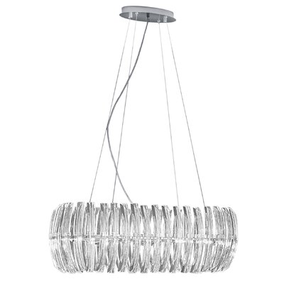 EGLO Drifter 8 Light Chandelier