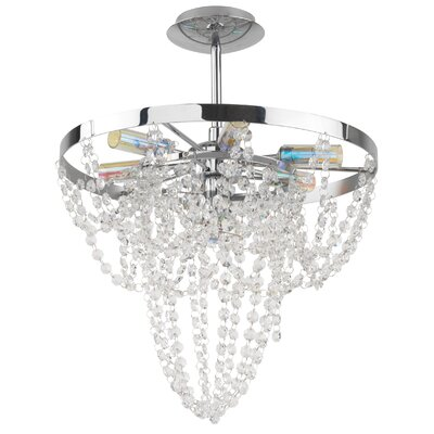 EGLO Swindon 6 Light Chandelier