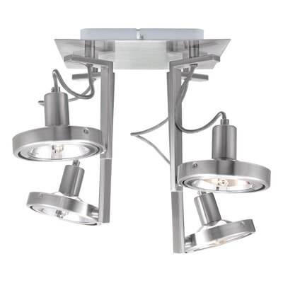Cubeto 4 Light Semi Flush Ceiling Light