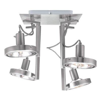 EGLO Cubeto 4 Light Semi Flush Ceiling Light
